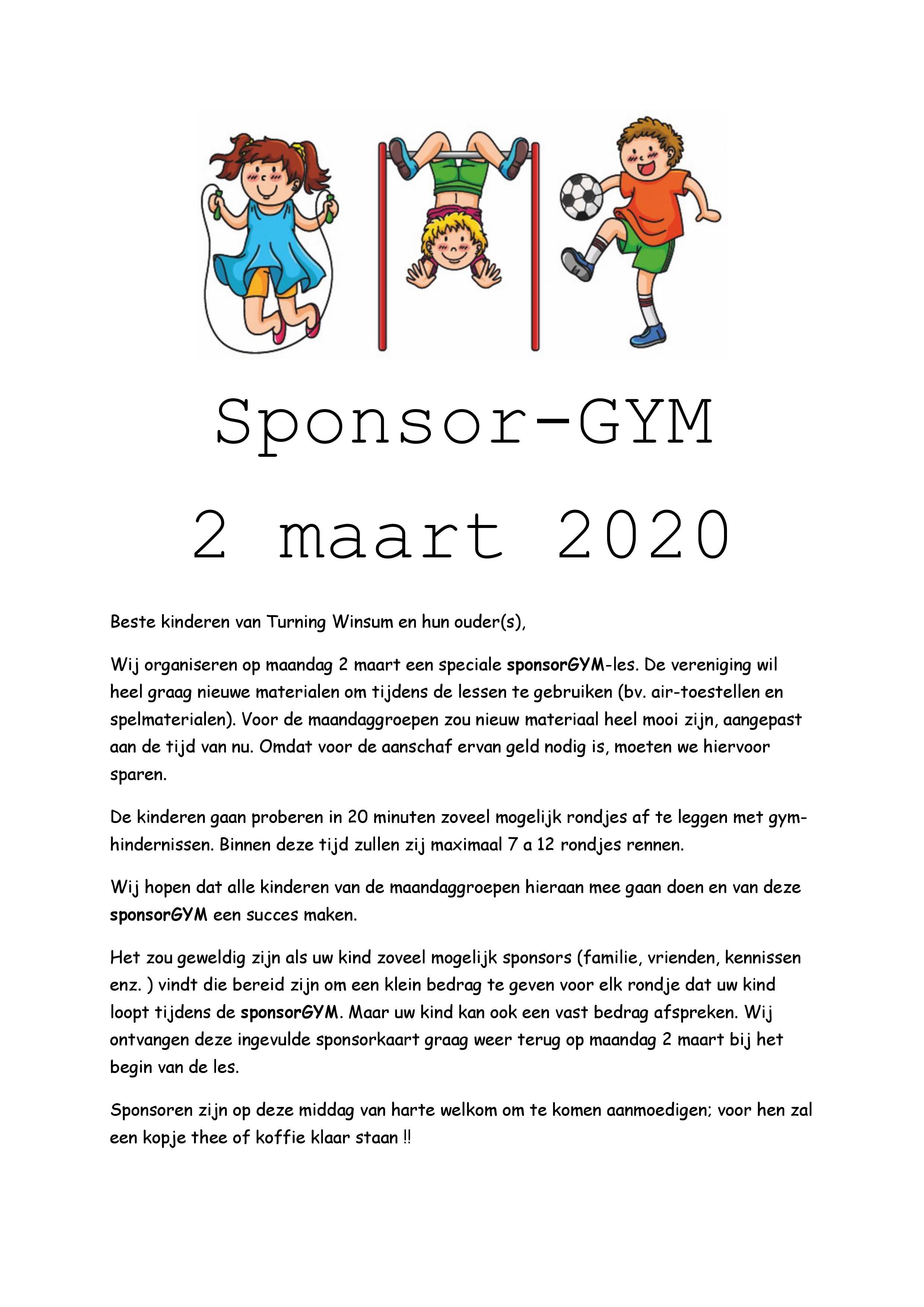 Sponsor-gym